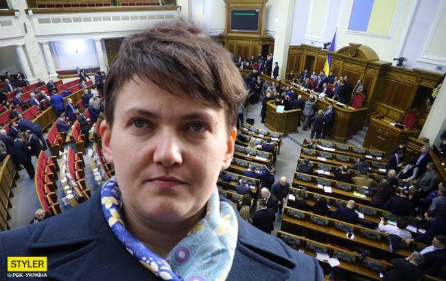 Савченко поскандалила в Раде из-за Зеленского: все подробности