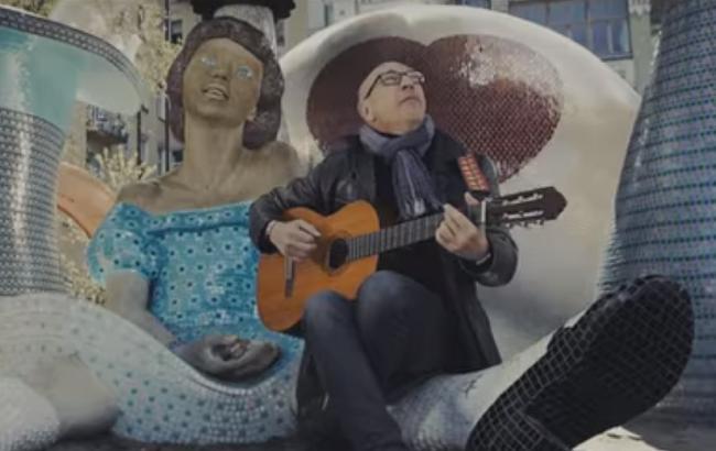 Німецький бард написав пісню про надзвичайну красу Києва
