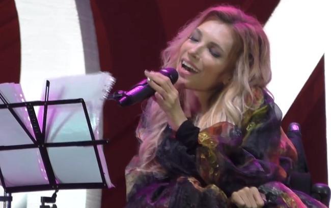 Юлия Самойлова (Кадр из видео facebook.com/RadioSvoboda)