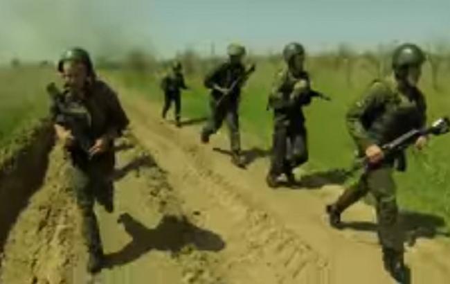 В мережі опублікували сильне відео марш-кидка української морської піхоти