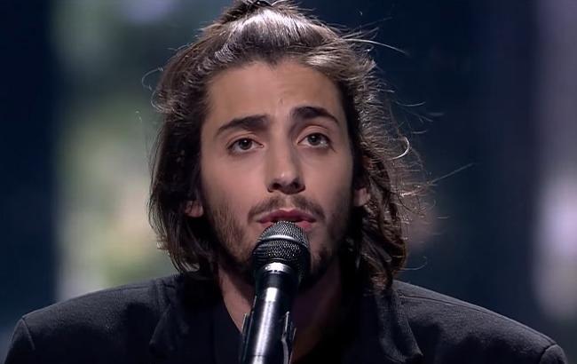 Фото: Выступление Сальвадора Собрала (eurovisionworld.com)