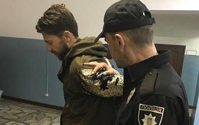 В полиции заговорили о наказании для провокатора, оголившегося на сцене Евровидения 2017