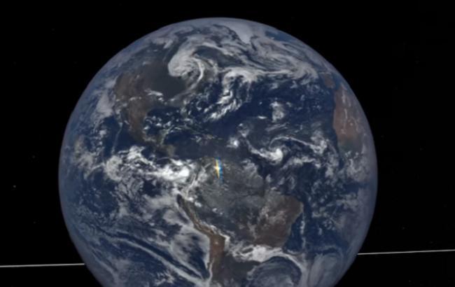 Космічний «прапор України»: вчені зафіксували сотні жовто-блакитних спалахів над Землею