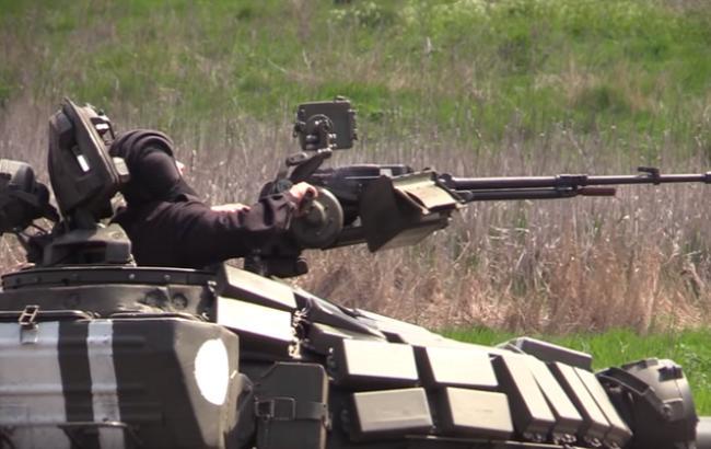 Танкіст (Кадр з відео youtube.com/Військове телебачення України)