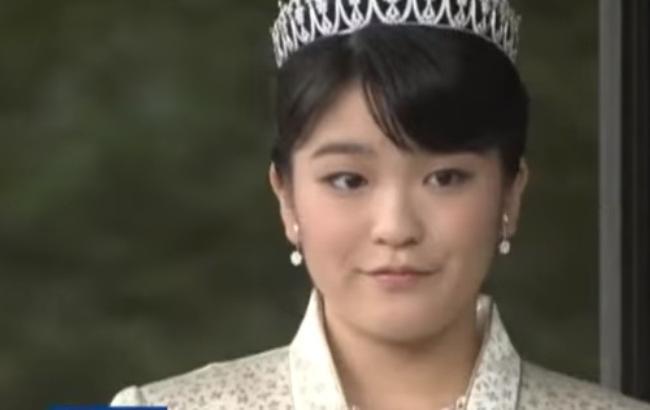Принцесса Мако Акисино (Скрингот с YouTube/АТН новости)