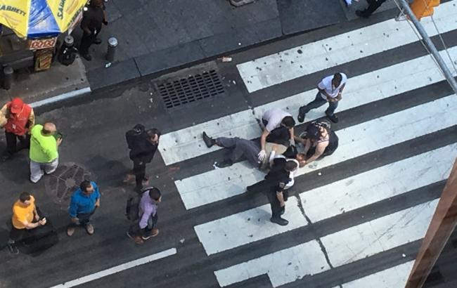 Фото: наїзд на натовп в Нью-Йорку