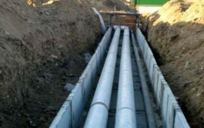 Киевэнерго ликвидирует последствия прорыва трубы наГолосеевском проспекте