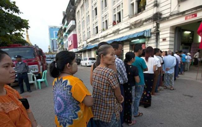 В М'янмі почалися історичні парламентські вибори