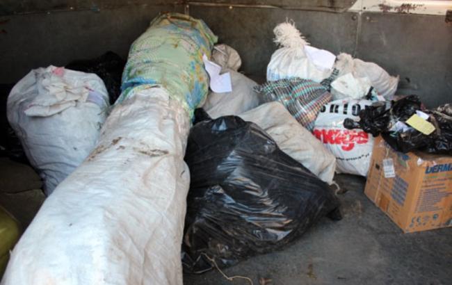 Фото: ликвидация партии наркотиков в Славянске
