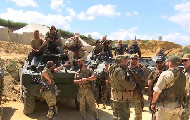 В Одеській області бійці АТО знімаються у фільмі про війну