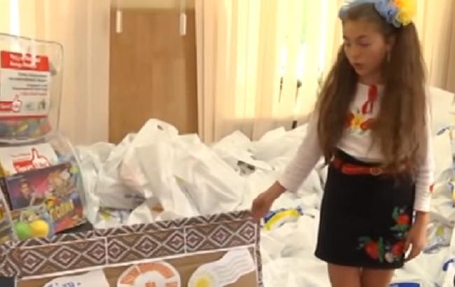 Волонтери з Дніпра відправили дітям в зоні АТО кілька тонн подарунків