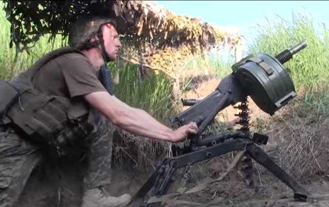 Бійці АТО гідно відповіли на обстріл бойовиків