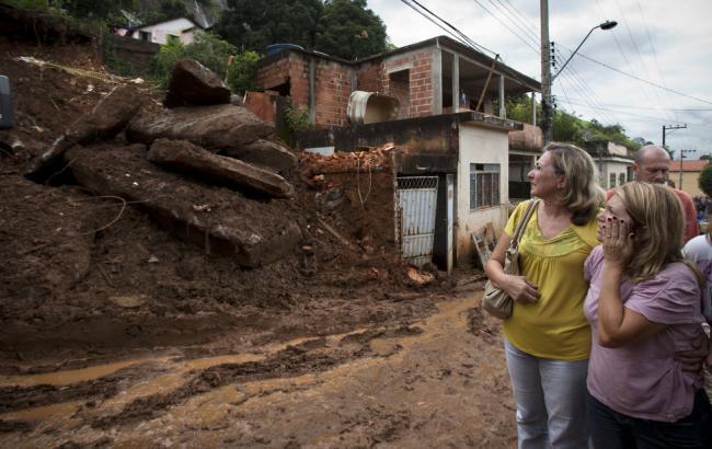 В результаті зсувів у Бразилії загинули 12 людей