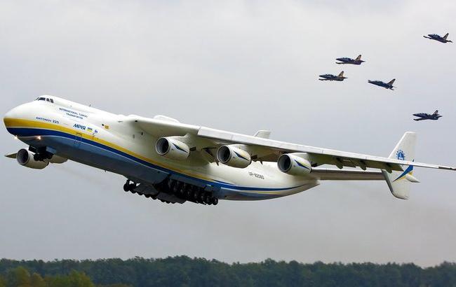 """""""Антонов"""" вперше в історії показав всі сконструйовані літаки"""