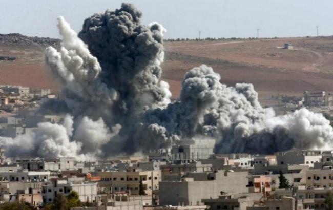 Беспилотник проасадовских сил пытался сбросить боеприпасы насоюзников США ибыл сбит