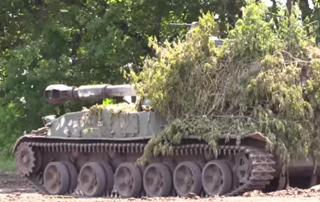 Украинские артиллеристы показали высокий результат по стрельбе в зоне АТО