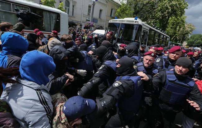 ВДнепре задержали еще одного соорганизатора массовых беспорядков 9мая