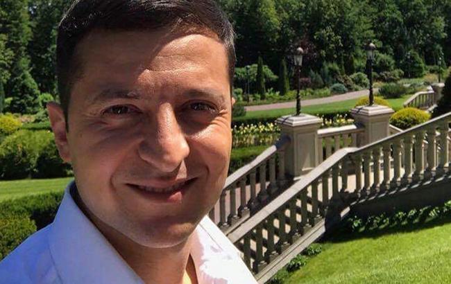 Зеленский обосновался в резиденции Януковича в Межигорье