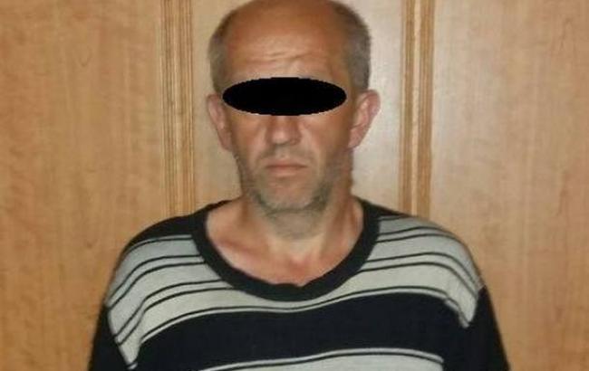 Фото: задержанный перебежчик (facebook.com/Vyacheslav.Abroskin)