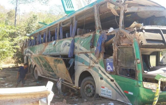 Фото: авария в Бразилии (Globo)