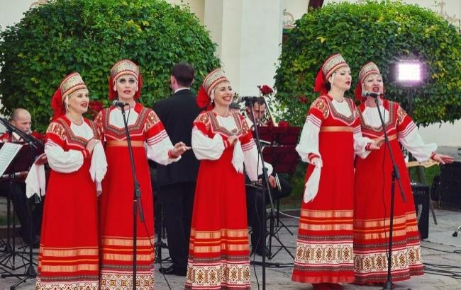 Фото: Праздник в Крыму (twitter.com/badBahchi)