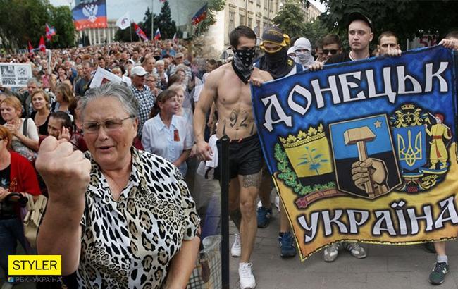 Жителі Донбасу (Колаж РБК-Україна)