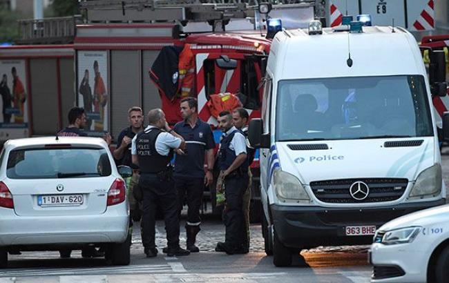 Фото: вибух у Брюсселі (http://deredactie.be)