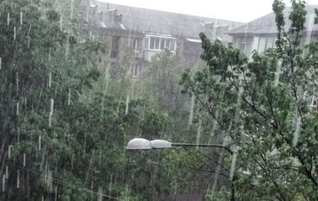 Фото: Злива в Києві (instagram.com/veretokha)
