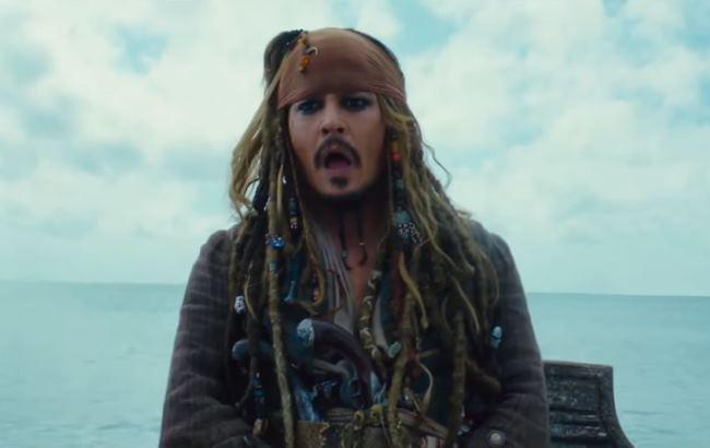 Кадр з фільму Пірати Карибського моря 5: Мерці не розповідають казки (YouTube/Офіційні трейлери)