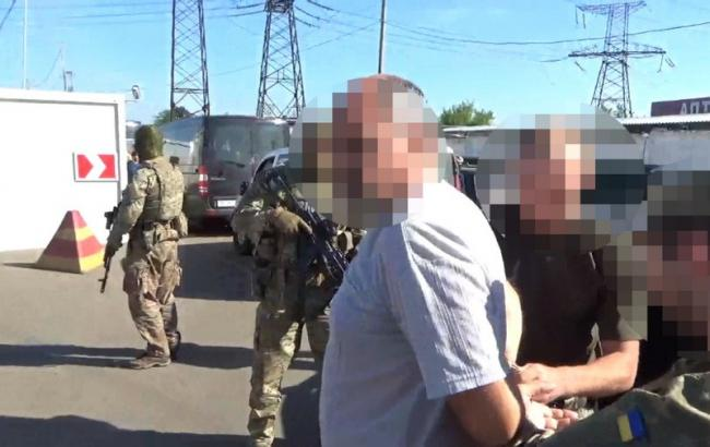 Фото: затриманий СБУ інформатор ДНР (ssu.gov.ua)