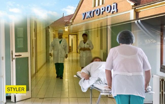 Трагедія в Берегівській лікарні Ужгорода (Колаж - РБК-Україна)