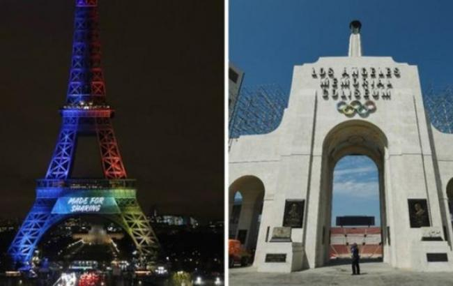 Визначені столиці літніх Олімпіад 2024 і 2028 років
