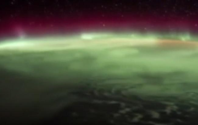 Північне сяйво (Скріншот з відео)