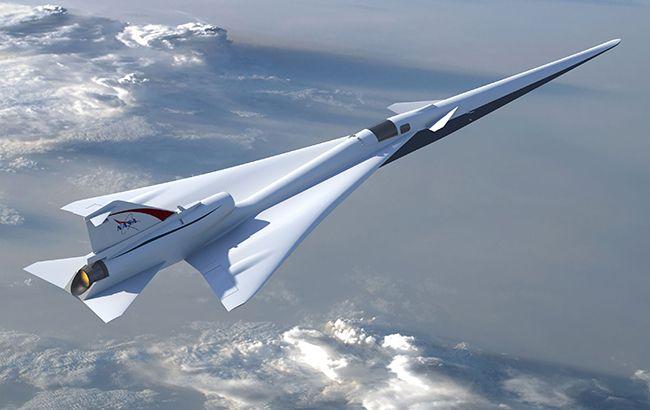 NASA планує створити тихий надзвуковий літак