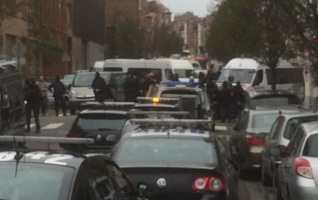 У Брюсселі при проведенні антитерористичної операції почалася стрілянина