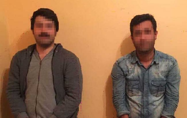 Фото: нелегальные мигранты с Турции (Госпогранслужба)