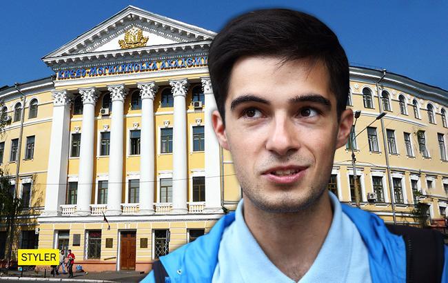 """Студент """"Могилянки"""" Эдем Галимов (Коллаж РБК-Украина)"""