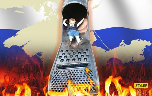 Детские площадки в Севастополе ужаснули соцсети