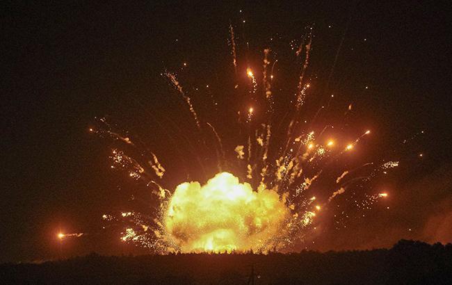 взрывы оружейных складов, которые потрясли Украину
