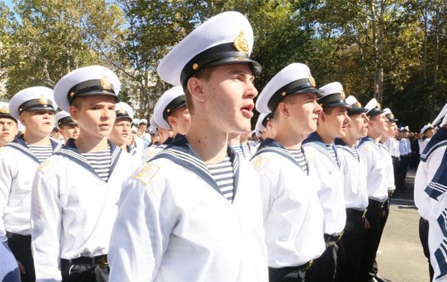 В сети показали обеды курсантов института ВМС в Одессе