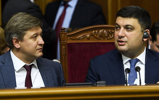 Александр Данилюк и Владимир Гройсман рассчитывают, что депутаты согласятся с правками Кабмина к госбюджету (УНИАН)