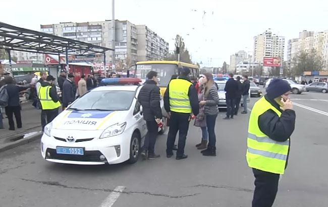 ДТП на Героев Днепра/Кадр из видео YouTube-канала ТСН