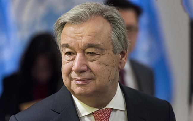 Генсек ООН обеспокоен отставкой премьера Ливана