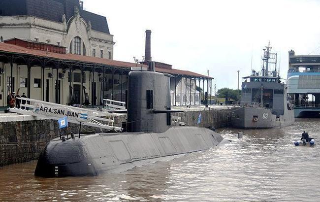 ВМС США направило две команды на поиски пропавшей аргентинской подлодки