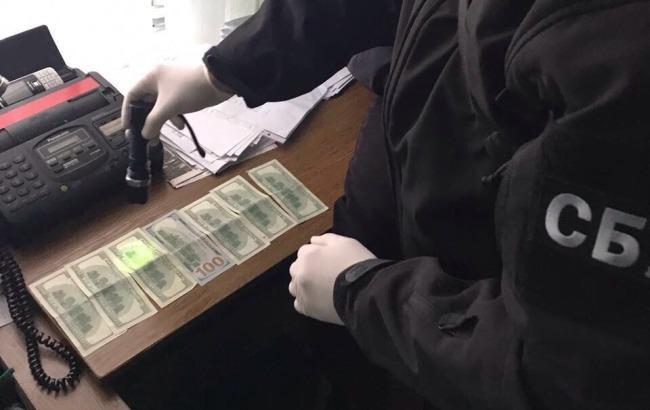 Фото: взятка (пресс-служба прокуратуры Волынской области)