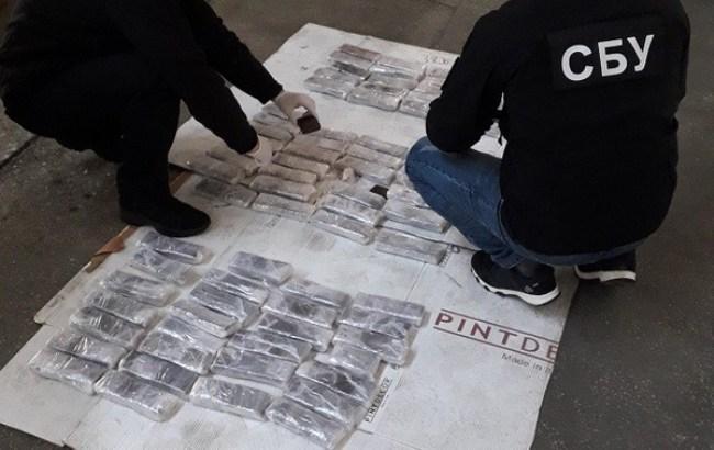 СБУ обнаружила партию наркотика из Европы на полмиллиона долларов США