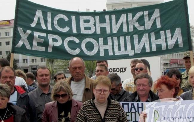 В Україні проходять мітинги з вимогою не допустити приватизації лісів