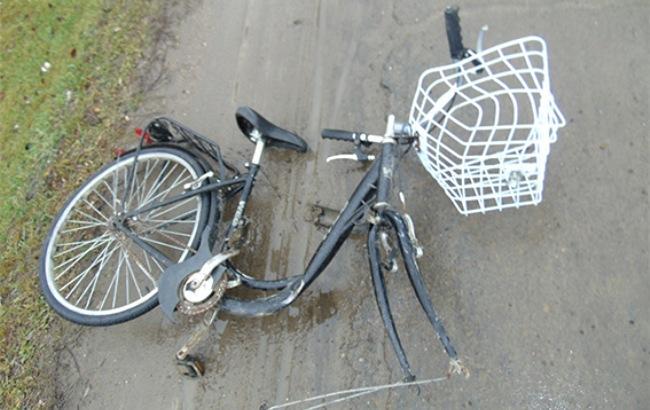 Фото: велосипед жертвы (отдел коммуникации полиции Черновицкой области)