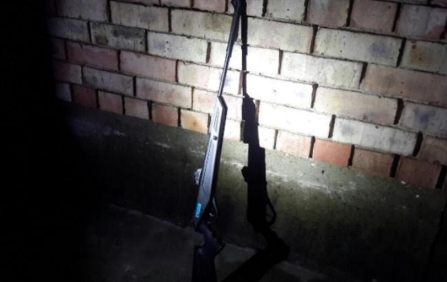 Фото: оружие (пресс-служба полиции Закарпатской области)