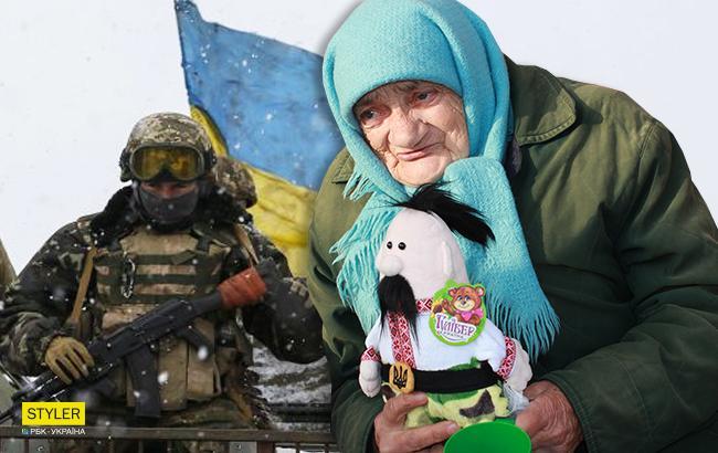 """""""Героиня Украины и доброе сердце"""": в Днепре 88-летняя бабушка-волонтер помогает бойцам АТО"""